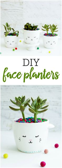 Easy DIY Planters -