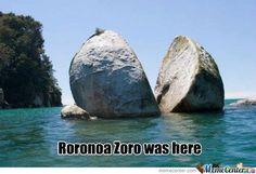 Roronoa Zoro was here