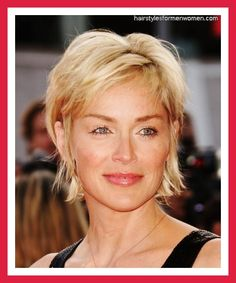 short hairstyles for women over 50 | short haircuts for women with thick wavy hair