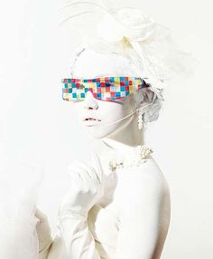 The Cinderella eyewear collection produced by Magic Touch Japan was designed by Mikiya Kobayashi with the help of art director Ryota Sakae.