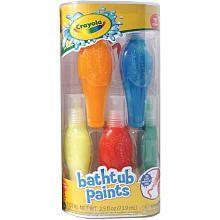"Edward -Bath Tub Finger Paints - Crayola - Babies ""R"" Us"