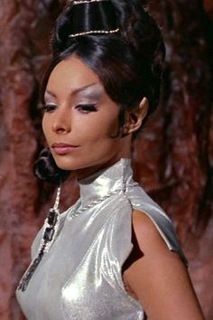 Arlene Martel as T'Pring in Star Trek episode Amok Time.