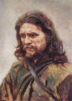 Vasily Surikov Paintings | Wanderer