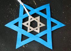 25 Hanukkah Crafts and DIY Menorahs
