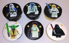 Cupcakes star wars