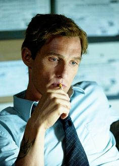 Matthew McConaughey as Rustin Cohle in True Detective True Detective Quotes, True Detective Rust, True Detective Season 1, Detective Aesthetic, Profile Pictures Instagram, Movie Shots, Kino Film, We Movie, Poses For Men