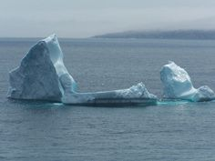 I snapped this iceberg in the summer of 2005, right outside the entrance to St. John's Harbour. That night, there was a story on the TV news about how the iceberg had cracked in half, causing a spectacular show. I had missed it by minutes.