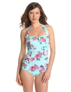 "Adorable one piece!  I need one for public events. My kids can see the ""rugged mom in a bikini"" Ha!"