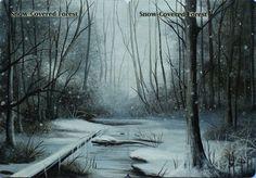 Marta Molina panoramic snow-land alter