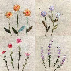 #야생화자수 #핸드메이드 #자수타그램 #자수 #handmade #embroidery #handembroidery