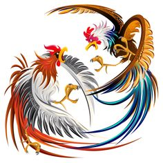 Illustration about Japanese Phoenix Isolated Vector illustration. Illustration of asian, happy, fortune - 33177187 Rooster Tattoo, Rooster Logo, Rooster Art, Rooster Stencil, Hahn Tattoo, Arte Do Galo, Japanese Phoenix, Logo Esport, Rooster Illustration