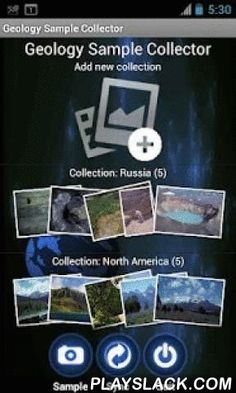 Geology Sample Collector  Android App - playslack.com , The Geology Sample Collector allows you to track and document your field work incorporating images, video, audio recordings, and/or text. It also allows you to track (with GPS) your path and enables the data to be synchronized to our website, edit, and/or share your work with others.You can also allow colleagues to view your work during or after your field trip by sharing it through your website, social networks, e-mail, etc. Once the…