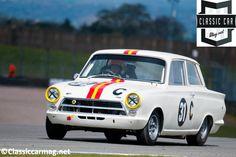 1964 Lotus Cortina at the 2013 Donington Historic Festival