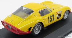 MG-MODEL MGGTO118017 Skala: 1/18  FERRARI 250 GTO COUPE ch.4153GT N 132 11th CARRERA EN CUESTA A MONSARRAT 1969 DELGADO YELLOW RED