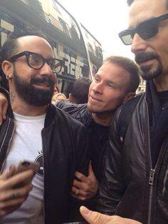 AJ, Brian, and Kevin