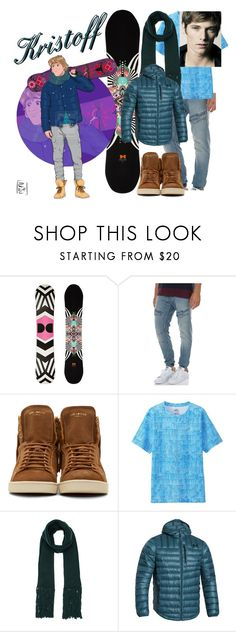 """""""Disney Gone College - KRISTOFF"""" by blackest-raven ❤ liked on Polyvore featuring DC Shoes, Disney, Nena & Pasadena, Yves Saint Laurent, Uniqlo, Lanvin and Under Armour"""