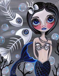 Goth Mermaid