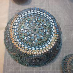 :) Decorative Bowls, Polymer Clay, Home Decor, Decoration Home, Room Decor, Interior Design, Home Interiors, Modeling Dough, Interior Decorating
