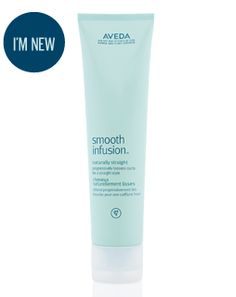 smooth infusion™ naturally straight - progressively straightens curls with every use Find out more at Aveda.co.uk