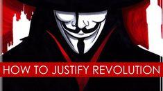 V for Vendetta: Justifying Revolution - video essay [Political Philosophy] V For Vendetta, Chapter One, Philosophy, Revolution, Politics, Writer's Block, Fan Art, Movie Posters, Cinema