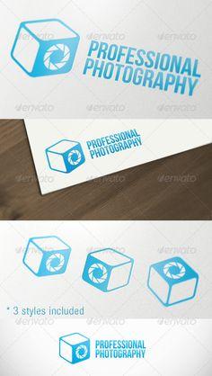 Photography Box Studio Premium Logo Template - DOWNLOAD NOW