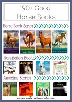 Good Horse Books---> 190+ books that your horse lover will kick up her heels for!