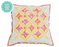Through The Windows folded patchwork cushion from Popular Patchwork magazine