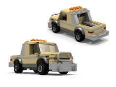 Custom LEGO Pickup Truck MOC http://www.custombricksets.com/product/lego-pickup-truck/