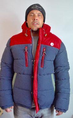 Billabong Mens Large Everest Hooded Puffer Snowboard Coat – BareFur #snowboard #ski #snow #snowboarding #menspuffy #menspuffer #menslargecoat #hoodie