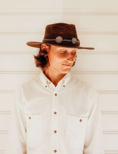 Check out our new releases! #ahm #americanhatmakers Outdoor Hats, Wearable Art, Cowboy Hats, Check, Style, Fashion, Swag, Moda, Fashion Styles