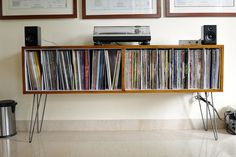Record collection and player spot