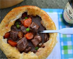 Rachael Ray's Guinness Beef Stew has the most savory combination of flavors that blend together perfectly.