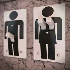 His & Hers light switches