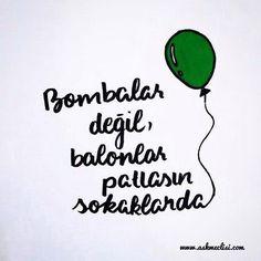 Bombalar değil, balonlar patlasın sokaklarda... #halep #haleptekatliamvar #halepölüyor #halep_yanıyor #haleptekatliamvarsessizkalma #halep