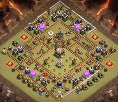 Best War Base Designs With **Links** Which are Anti Bowler, EDragons that can withstand competitive opponets attacks from anti 2 and 3 stars. Clash Of Clans Android, Clash Of Clans Game, Clsh Of Clans, Nintendo Ds Pokemon, Video Game Memes, Pokemon Fusion, Gaming Memes, Super Smash Bros