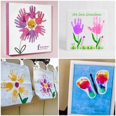 Atividades com Pintura para Dia das Mães - Pop Lembrancinhas Pallet Patio Furniture, All Craft, Flower Crafts, Objects, Bows, Casa Pop, Bottle, Tableware, Flowers