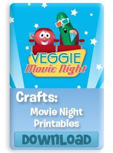 Family Move Night| VeggieTales.com  #printable
