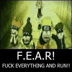 The meaning of FEAR #animeotaku #otakulover #anime #animepic #animelover #otaku...