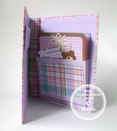 Scrap, 12 pasos para no parar! (non stop scrap): Reto # 7 Bello y funcional ... Mini archivador de tarjetas!