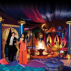 Aladdin's Paradise Complete Prom Theme-Arabian Nights, Romantic Prom theme ideas for 2016