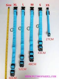 Image result for dog collar size chart cm