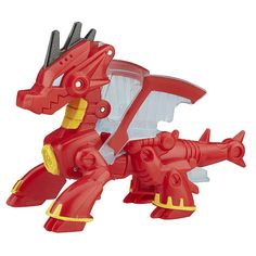"Transformers Rescue Bots Drake the Dragon-Bot Figure - Hasbro - Toys ""R"" Us"