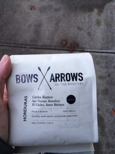 bows and arrows coffee
