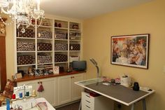 Sewing Room Organization- 10 things every sewing/craft room needs