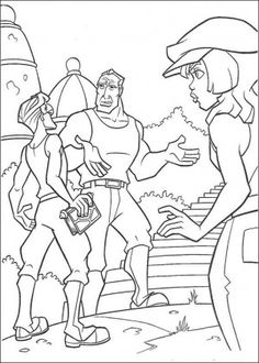 Atlantis coloring page 58