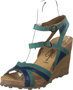 Fly London - Aube Blue/Turquoise