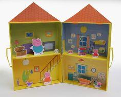 Casa de Peppa Pig 3D para Jugar. Para Imprimir Gratis. | Ideas y material gratis para fiestas y celebraciones Oh My Fiesta!
