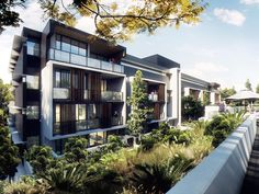 The Village @ Coorparoo, Brisbane - Retirement Village by S3 Architects Building 2 artist impression - under construction