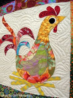 Clementine, Isabella, Mr. Nadia and many more by Rosemarie Snow, quilted by Debbie Stanton. Pattern by Sindy Rodenmayer. 2016 Quilt Arizona, photo by Quilt Inspiration.