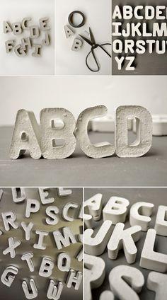 #tipografía de cemento